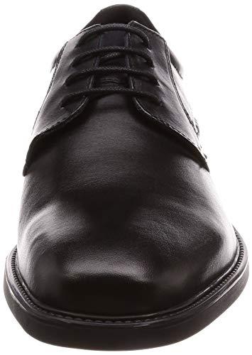 Signori BRANDOLF Basse Schwarz Scarpe Scarpe Scarpa Geox U844VC Scarpe lassi Allacciatura Stringata con Uomo Ufficio Stringate Lavoro da Derby Basse zxxqwPRv1d