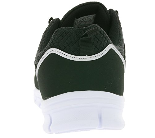 Top Sneakers Black Low Kappa White Adults 1110 242011 Unisex S0qXvXIU