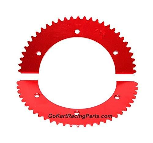 Sprocket Go Kart Racing 60-62 Tooth #35 Chain Axle Gear Hub Split Sprockets