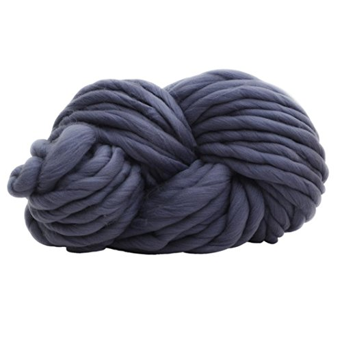 Wensltd Hotsale! Wool Yarn Super Soft Bulky Arm Knitting Wool Roving Crocheting DIY (A-1)