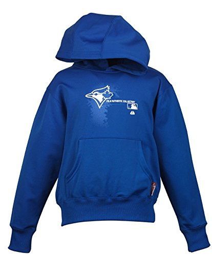 Toronto Blue Jays Adult Size 2X-Large 2XL Change Up Therma Base Dugout Performance Hooded Fleece Sweatshirt - XXL Hoodie
