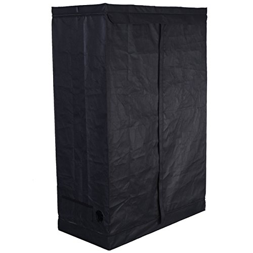 "$66.99 indoor grow tent cheap Giantex Indoor Grow Tent Room Reflective Mylar Hydroponic Non Toxic Clone Hut 6 Size (48""X24""X72"") 2019"