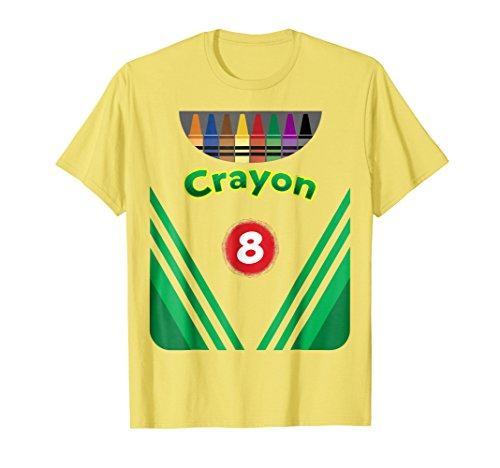 Kids Crayon Costume Crayon Box Halloween Costume shirt -
