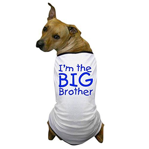 CafePress - I'm the big brother Dog T-Shirt - Dog T-Shirt, Pet Clothing, Funny Dog Costume (Unique Pet Costumes)