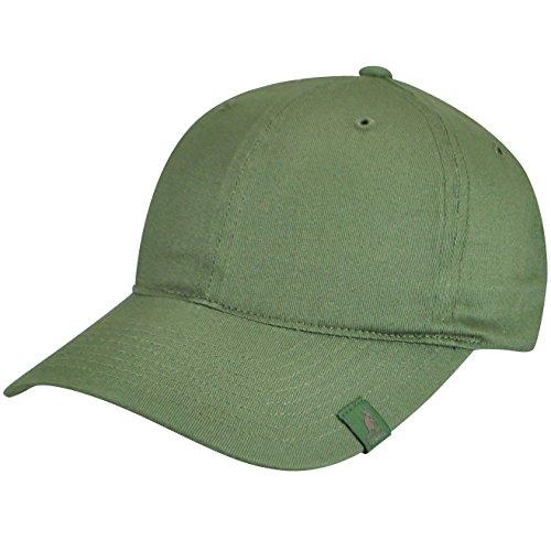 - Kangol Men Cotton Adjustable Baseball Army Green One Size Fits Most