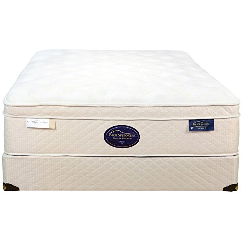 King Spring Air Back Supporter Latex Sunset Euro Top Mattress