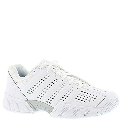 K-Swiss Women's Bigshot Light 2.5 Tennis Shoes (White/White) (7 B(M) US)