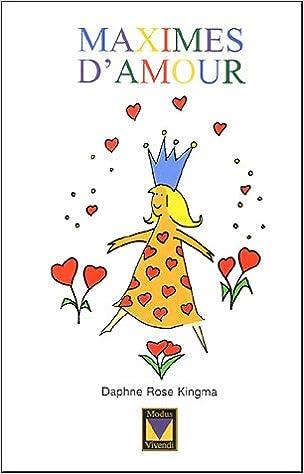 Télécharger en ligne Maximes d'amour pdf ebook