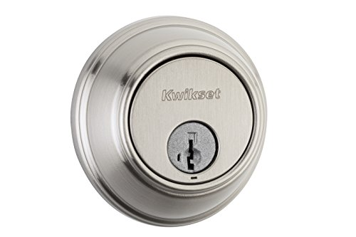 Kwikset 816 Key Control Single Cylinder Deadbolt featuring SmartKey in Satin - Landlord Locks