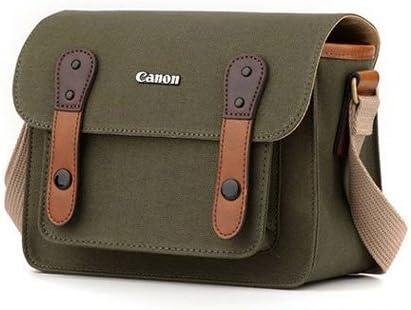 Canon D-SLR RF Mirrorless Pocket Shoulder Bag Case 6520 Khaki for Lens EOS M M2 M3 100D 400D 450D 500D 550D 600D 650D 700D 750D 41AG4cGVU8L
