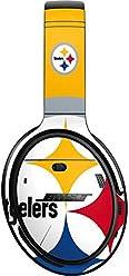 50bf27b436c Skinit Pittsburgh Steelers Large Logo Bose QuietComfort 35 II Headphones  Skin - Officially Licensed NFL Audio