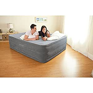 indoor outdoor air mattress queen size bed comfortable guest blow up high rise. Black Bedroom Furniture Sets. Home Design Ideas