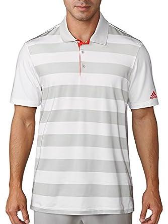 adidas CD3360 Polo de Golf, Hombre, Blanco, S: Amazon.es: Ropa y ...