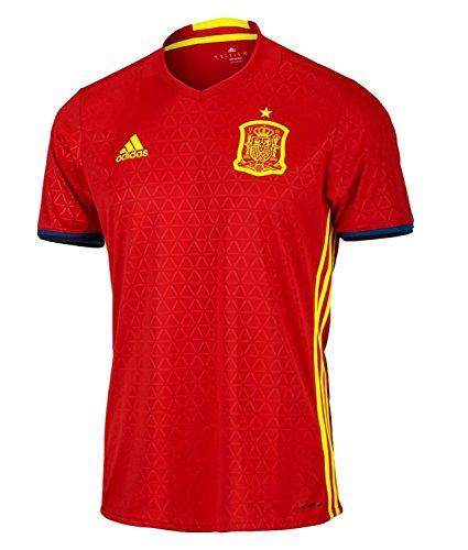 望むクラブがっかりするadidas Spain Home Jersey UEFA EURO 2016 /サッカーユニフォーム スペイン ホーム用 2016