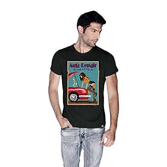 Creo Auto Repair Beach T-Shirt For Men - M, Black