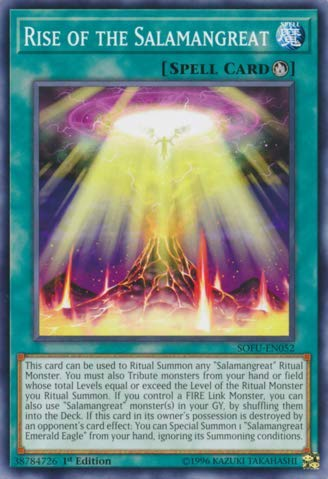 Yu-Gi-Oh! - Rise of The Salamangreat - SOFU-EN052 - Soul Fusion - 1st Edition - Common