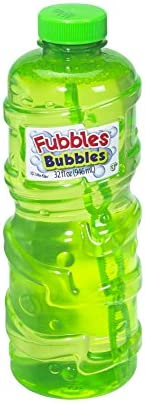 Little Kids Fubbles Premium Long Lasting Bubble Solution, 32 oz