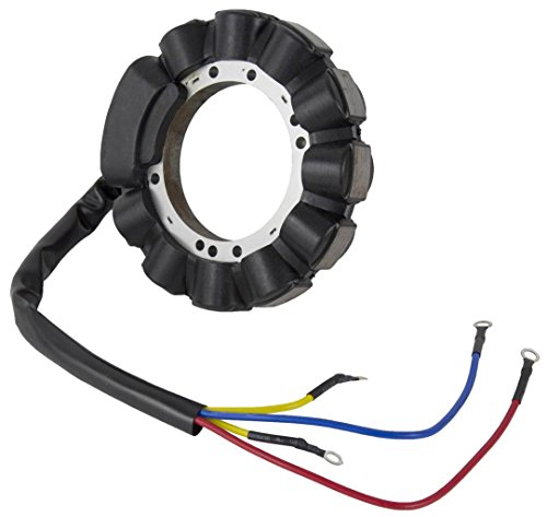 NEW STATOR FITS MERCURY MARINER 40HP 2 CYL ENGINE ELECTRIC START 398-5255 18-5856 3985255 ()