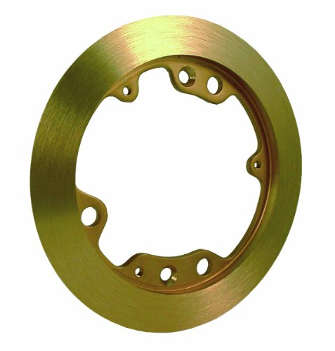 Hubbell-Raco 6230 5-1/4-Inch Round Brass Carpet Flange by Hubbell