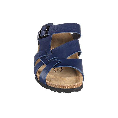 JOE N JOYCE Athen SynSoft Suelo blando sandalias estrecho Blue