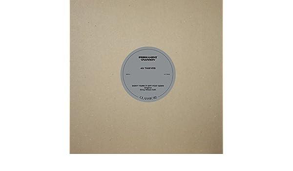 Dont Turn It Off (Greg Wilson Edit) de 40 Thieves Feat. Qzen en Amazon Music - Amazon.es