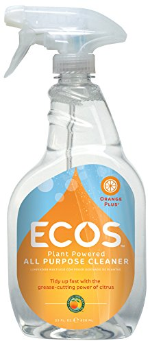 Earth Friendly Products Orange Plus Cleaner, Ready-to-Use Spray, 22 Fl. Oz. (Pack of 2)