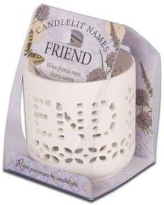 Candlelit Names Vela con Nombre
