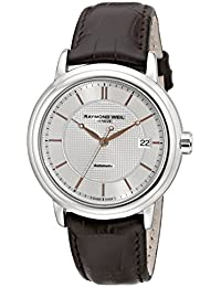 Mens 2837-SL5-65001 Maestro Analog Display Swiss Automatic Brown Watch