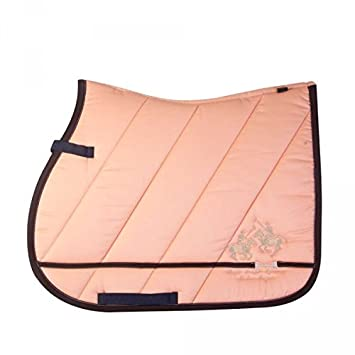 Hv Polo Saddle Cloth Baker Vs Or Dr Peach Amazon Co Uk Pet Supplies