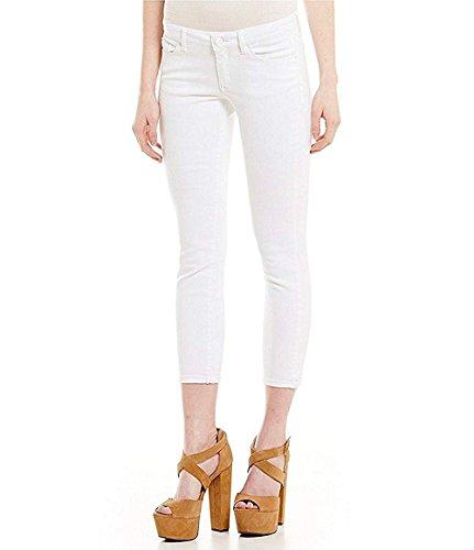 (Jessica Simpson Women's Rolled Crop Skinny Jean (4/27, White))
