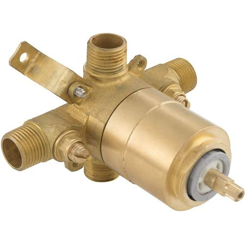 Integral Stops - Mirabelle MIR4001 Pressure Balanced Tub and Shower Rough In Valve with Integral Stops