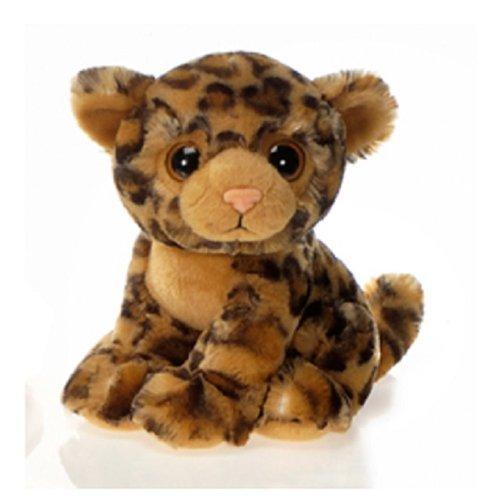 9 Sitting Leopard with Big Eyes Plush Stuffed Animal Toy by Fiesta Toys by Fiesta Toys