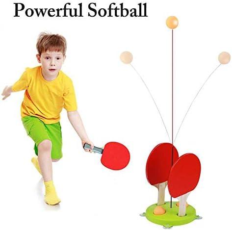 卓球トレーナー子供用弾性ソフトシャフト自己トレーニングアーティファクトシングルホーム屋内ラケットおもちゃ