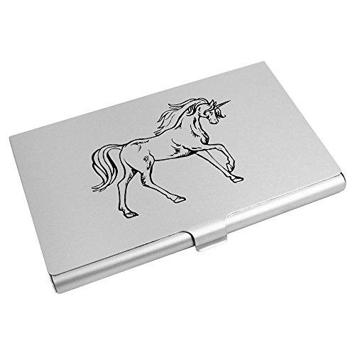Azeeda Credit Card CH00015396 Wallet 'Running Business Card Unicorn' Holder 44Awr