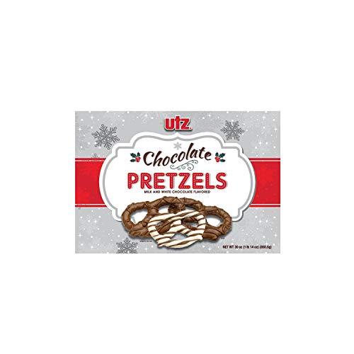 utz Chocolate Pretzels Milk & White Chocolate Flavored 30 oz.