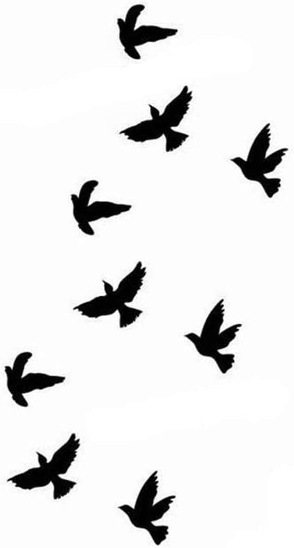 Tatouage Temporaire Tatouage Ephemere Oiseau Pour Femme Homme Enfant Fille Tatoo Tattoo Temporaire Waterproof Parfait Pour Toutes Les Occasions Bijoux De Peau Type 1 Amazon Fr Beaute Et Parfum