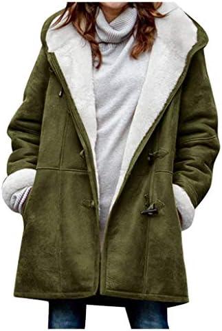 [해외]jin&Co Women Winter JacketHood Plus Size Faux Fur Fleece Lining Loose Casual Parka Coat Outwear / jin&Co Women Winter JacketHood Plus Size Faux Fur Fleece Lining Loose Casual Parka Coat Outwear