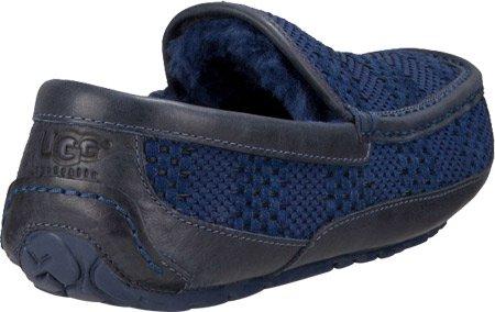 3869aff5db8 UGG Men's Ascot Weave Navy Suede Slipper 16 D (M): Amazon.ca: Shoes ...