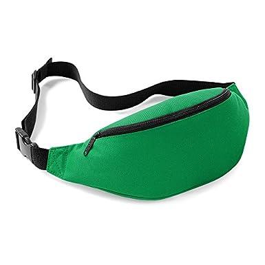 GUOYIHUA 1pcs Fashion Man/Women Bag Travel Handy Pack Waist Belt Zip Pouch Handy Pack Waist Bag