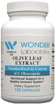 Olive Leaf Extract – 5802-120 Capsules