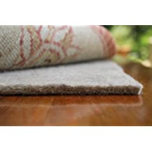 """8'x11' 40 OUNCE AREA RUG carpet PAD. MULTIPLE SIZES and shapes to choose from. OVER 1/2"""" THICK Authentic MOHAWK Industries Specifiers choice P40A. 100% recycled FELT JUTE. Home area rug pads, runner, rectangle, square, oval and round. Underlay, padding."""