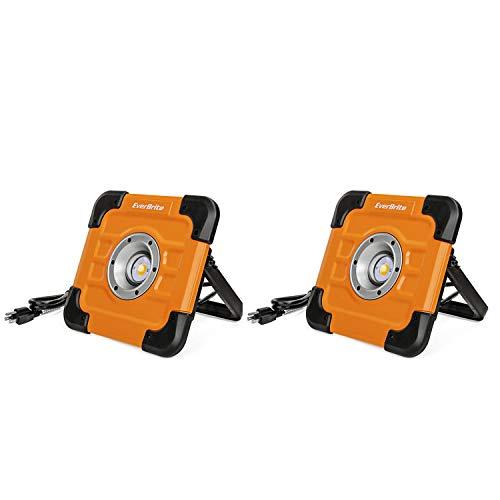 EverBrite 2-pack Pocket Work Light - 150 Lumen LED Flood ()