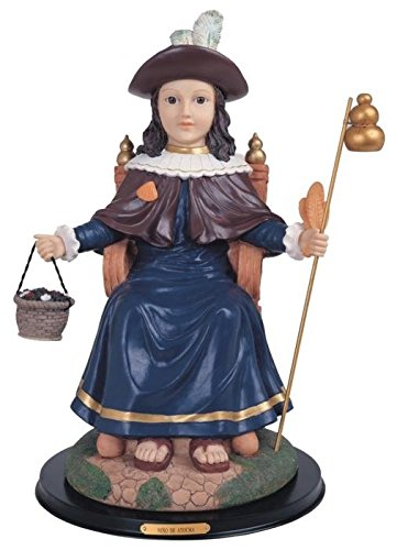 StealStreet SS-G-324.34 Nino De Atocha Religious Child Figurine Statue with Glass Eyes, 19'' by StealStreet