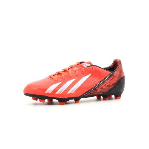 adidas - Botas de fútbol para hombre rojo Coral