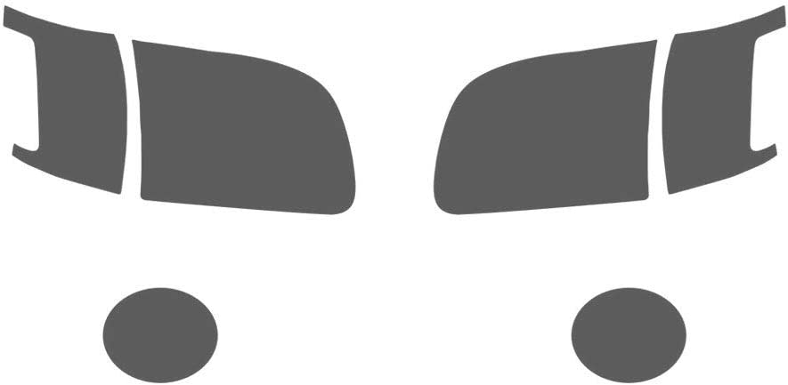 Application Kit Rvinyl Rtint Headlight Tint Covers for Toyota Tundra 2003-2006