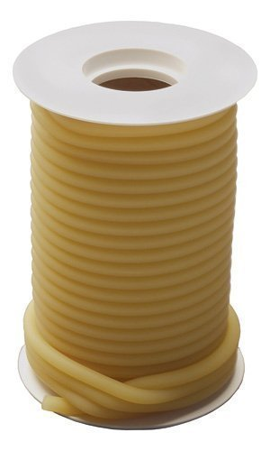 GF Health 3932 12 Latex Tubing, 50', 1/4
