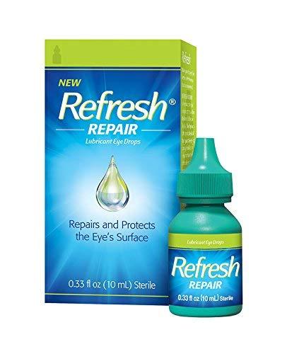 Refresh Repair & Protect Lubricant Eye Drops, 0.33 fl oz (Pack of 2)