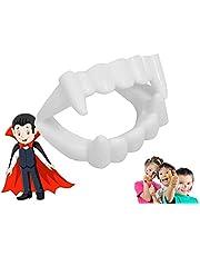 Vampierbit - geschikt voor kinderen - stabiel & ongevaarlijk - vampiertanden Halloween Dracula Vampierbit om op te klikken (1x stuk)