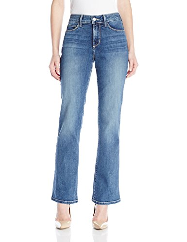 NYDJ Women's Petite Barbara Bootcut Jeans In Stretch Indigo Denim, Heyburn, 8 Petite by NYDJ