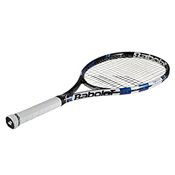 Babolat 2015-2017 Pure Drive 110 Tennis Racquet – Strung with Cover